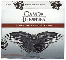 GAME OF THRONES SEASON FOUR TRADING CARDS BOX