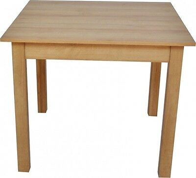 Riviera Rustic Oak Kitchen Dining Table | Seats 4 | 90cm x 90cm