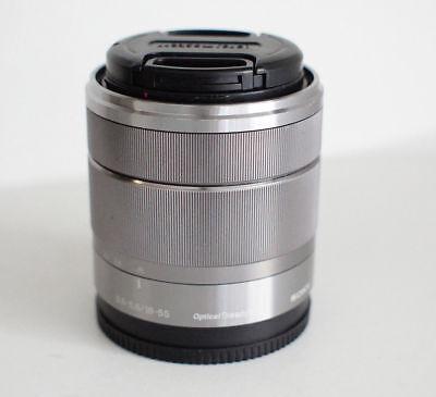 Sony E 18-55mm f/3.5-5.6 OSS SEL1855 Lens for Nex & Alpha Cameras used