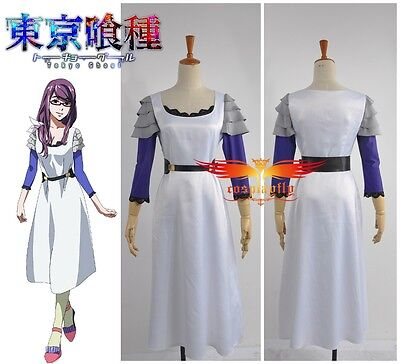 Tokyo Ghoul Rize Kamishiro Cosplay Costume Custom Made Any Size