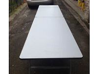 Used Sico Mobile Folding Table