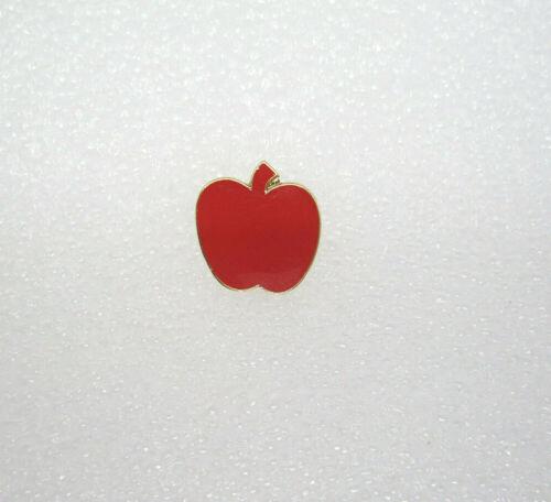 School Teacher Red Apple Lapel Pin (A35)