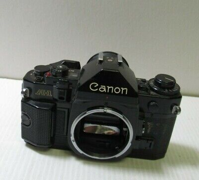 Canon A-1 35mm SLR Film Camera Body Only Manual Focus JAPAN #786