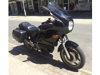 BMW K75TC Touring Motorcycle with Full Fairing and Panniers.