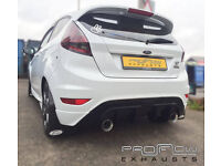 Proflow Stainless Steel Performance Exhaust Back Box and Tail Pipe