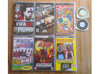 PSP GAMES & VIDEOS, SEE PHOTOS & DESCRIPTION BELOW FOR MORE DETAILS. MOST C/W BOX. FROM £1.