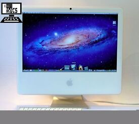 " 24"" White Apple iMac 2.16Ghz 3Gb 500GB Ableton Logic Fruity Loops Microsoft Office Adobe CS6 "