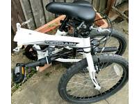 Folding bike in excellent condition