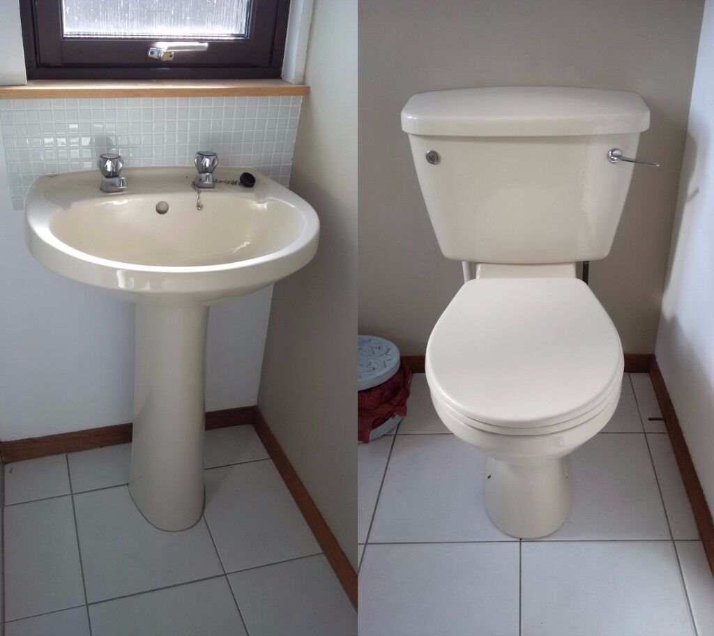 Stelrad Doulton Toilet and Sink Hand Basin £50 ono   in ...