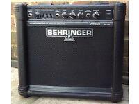 Behringer GM108 V-Tone True Analog Modeling 15W Guitar Amplifier
