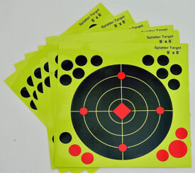 Target Stickers Self Adhesive Shooting Targets Pack of 20pcs