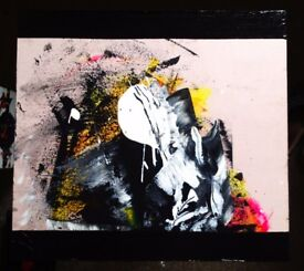 Original Painting from Red Fox - Montagna