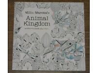 Animal Kingdom Colouring Book Adventure by Millie Marotta