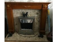 Fire surround & electric fire