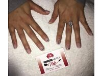Acrylic extensions, Shellac Polish, Manicures