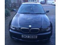 BMW 3 Series Coupe (sport) Black