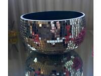 Mirror mosaic design bowl