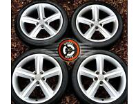 """18"""" Genuine Audi S Line alloys great cond excellent matching premium tyres."""