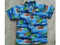 Boys Hawaiian holiday shirt age 5 years