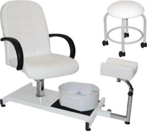 d6b46fb647b3 NEW PEDICURE STATION MASSAGE FOOT SPA BEAUTY SALON CHAIR FMB100