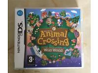 Animal Crossing Wild World Nintendo DS