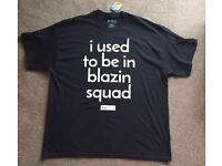 Official Love Island Primark I Used To Be in Blazin Squad T-Shirt XL Blazing