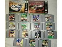 N64 Nintendo 64 Games
