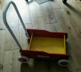 Wooden Brio walker