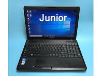 Toshiba Fast HD Laptop, 4GB Ram 250GB, Windows 10, Microsoft office, In Excellent Condition