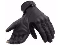 Motorbike Leather Glove (Waterproof finish)(Touch Mobile can be operate) BRAND NEW
