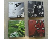 THE OFFICIAL STAR WARS FACT FILE MAGAZINES - PARTS 1-71 PLUS FOLDERS
