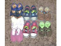 Various shoes, 50p each.