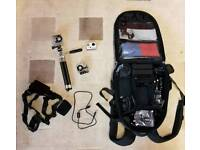 GoPro Hero plus loads of accessories