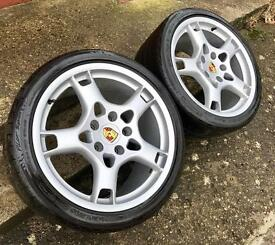 Porsche Lobster Claws Genuine 19S BBS Alloys
