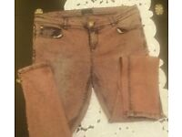 Ladies jeans and corset combo