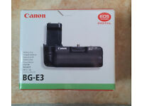 Canon BG-E3 Camera Vertical Grip / Battery Holder for Canon EOS 400D and 350D DLSR Cameras