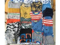Large Boys Clothes Bundle - Mini Boden, Gap, M&S, H&M- Sizes 5-6 yrs