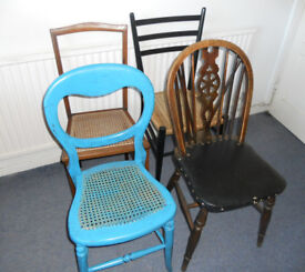 Chairs for Upholstery or Up-cycling - £8 each