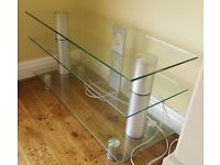 Glass TV Stand / Unit