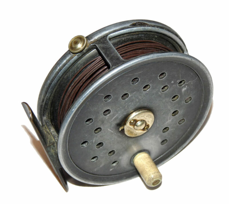 Farlow Super Grenaby 3-7/8 sea trout & salmon vintage fly reel c 1930;s