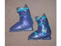 ski boots/ bag ~ skis / poles ~ bindings and soft intersport red ski bag a complete ski package