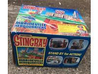 Vintage 1993 Stingray Marineville Headquarters playset