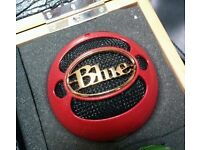 Blue Kickball powered dynamic drum microphone