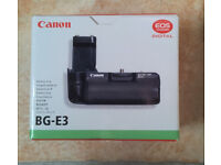 Canon BG-E3 Camera Vertical Grip / Battery Holder for Canon EOS 350D and 400D DLSR
