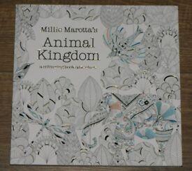 Animal Kingdom Colouring Book Adventure by Millie Marotta