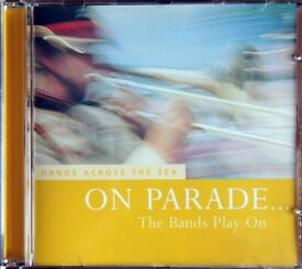 On Parade… The Bands Play On - Hands Across The Sea [CD]