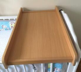 Cot top changer from Mothercare