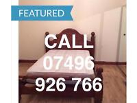 KING SIZE DOUBLE ROOM & VERY LARGE SINGLE ROOM TO LET LONDON