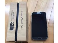 Samsung galaxy s4 GT-i9505 black 16gb.unlocked.boxed. good condition. nt s3 s5 s6.. htc one m8