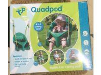 Child's swing, Quadpod.